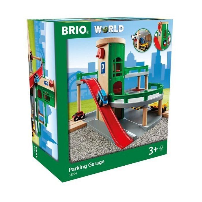 Brio Parkhaus, Strassen & Schienen